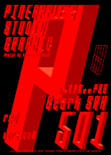 Beark SRH red 501 font