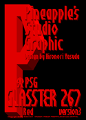 Glasster 267 Red font