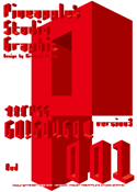 GO!GO!!GO!!! 001 Red font