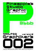 Graphikers 002 font