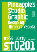 Justy st0201 font