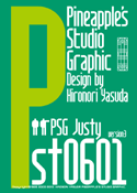 Justy st0601 font