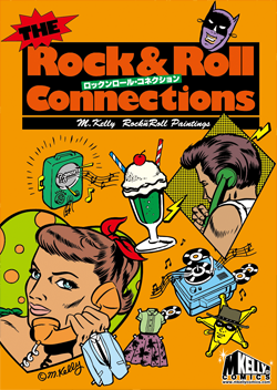 M. Kelly Paintings Rock'n'Roll Connections